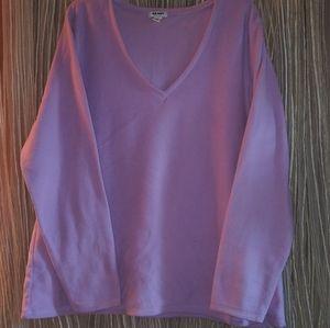 Lavender Old Navy Fleece Pullover